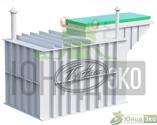Пластиковый погреб с боковым входом ТИТАН АГРОНОМ