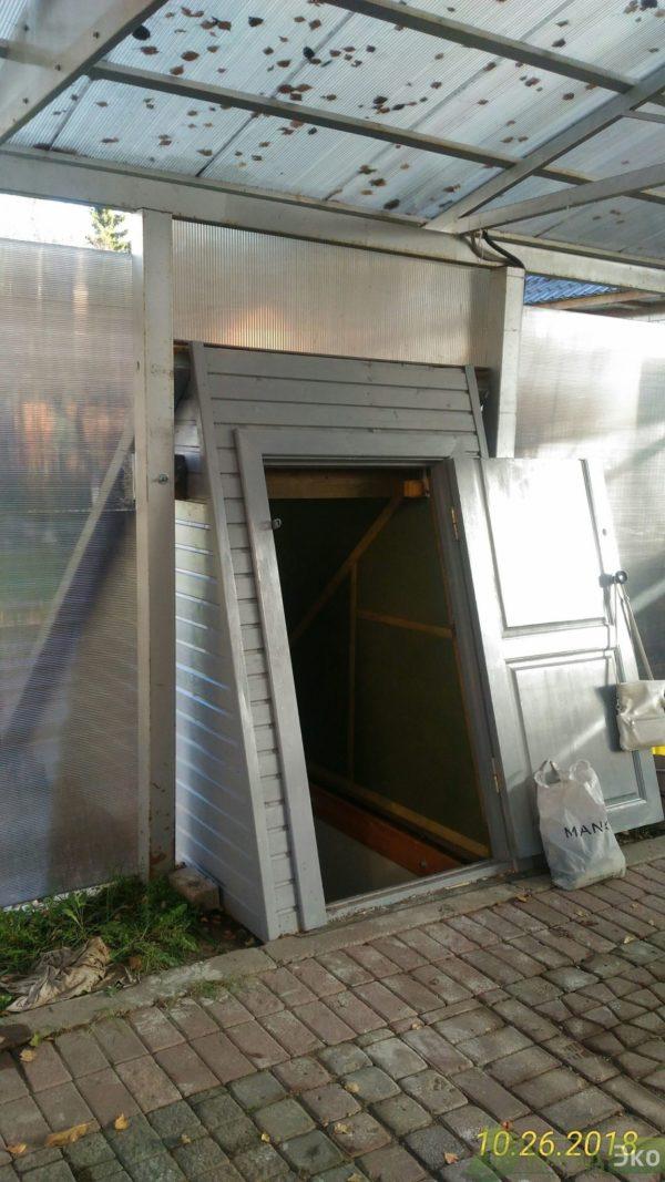Пластиковый погреб с боковым входом ФЕРМЕР