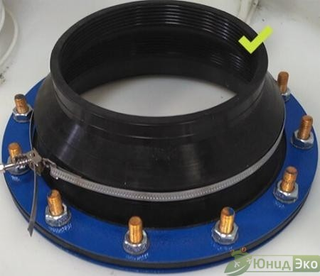 Муфта TITAN connection ∅ 110-157 мм