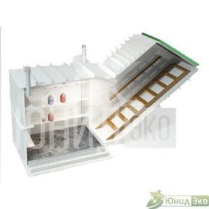 Пластиковый погреб с боковым входом ДАЧНИК