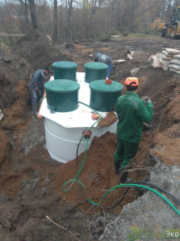 Станция Биологической очисти сточных вод - КОЛОВЕСИ 40