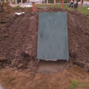 Монтаж Погреба Дачник 3000*2000*2000, объём 12м.куб