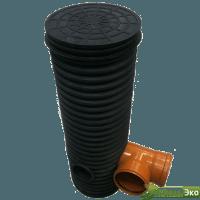 Колодец дренажный в комплекте (дно+крышка) 315/271  h 2,0 м