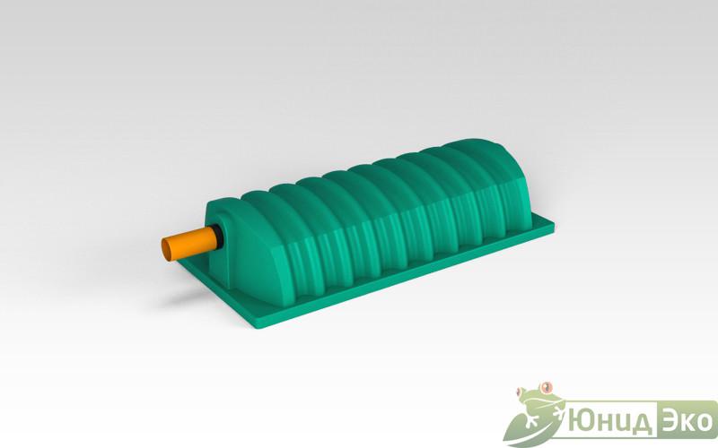 Тоннель дренажный «Росток» зеленый