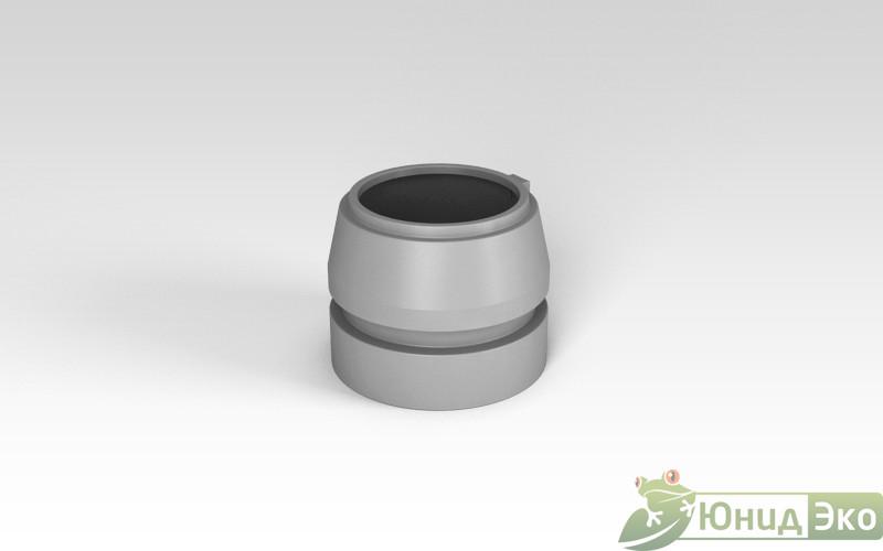 Горловина септика «Росток» 640мм серый