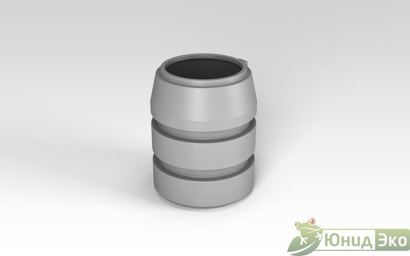 Горловина септика «Росток» 940мм серый