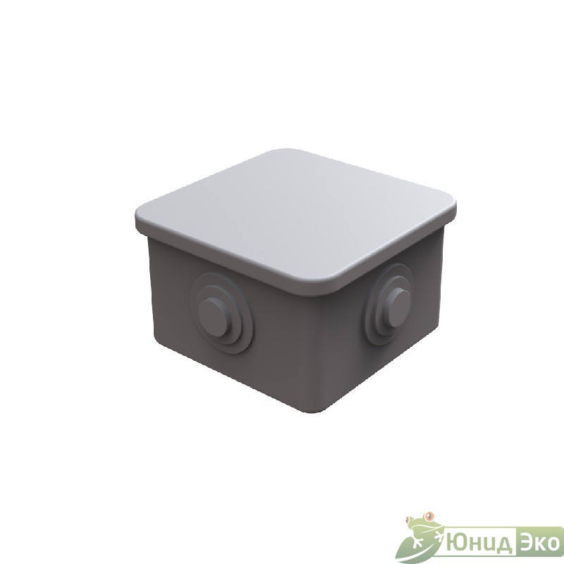 Электромонтажная коробка внутри кессона