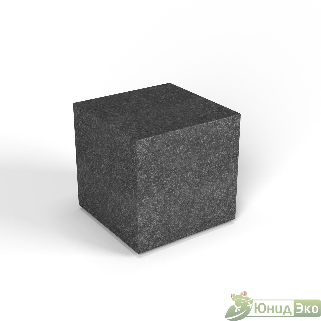 Декоративная фигура «Flox» Куб черный гранит