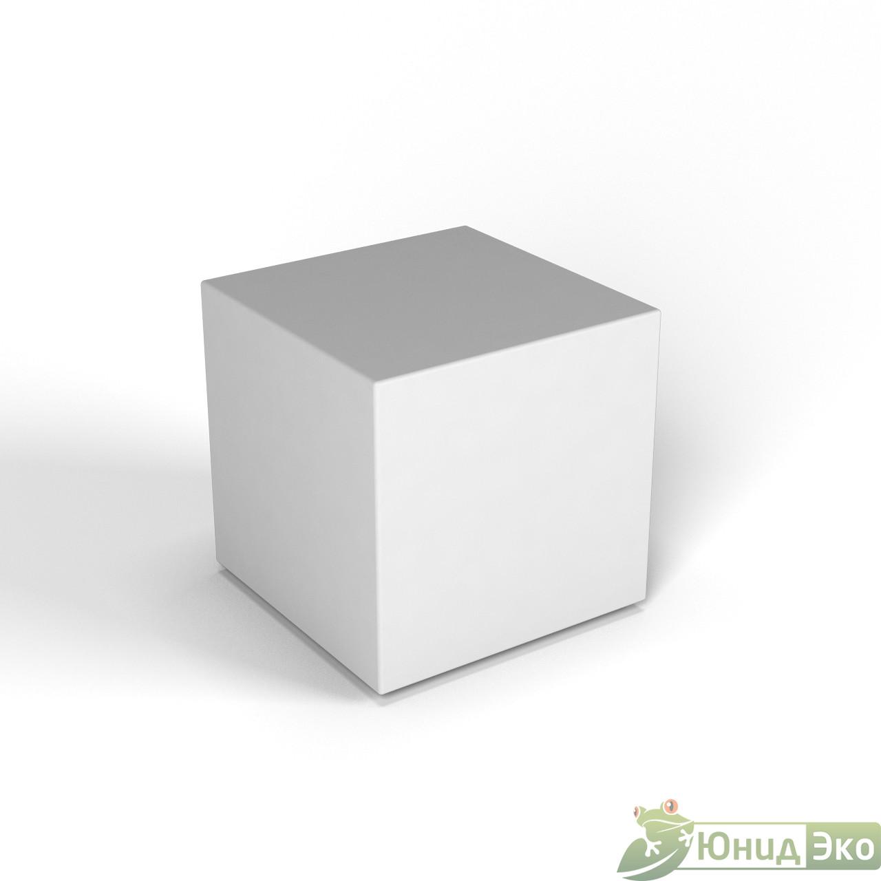 Декоративная фигура «Flox» Куб белый