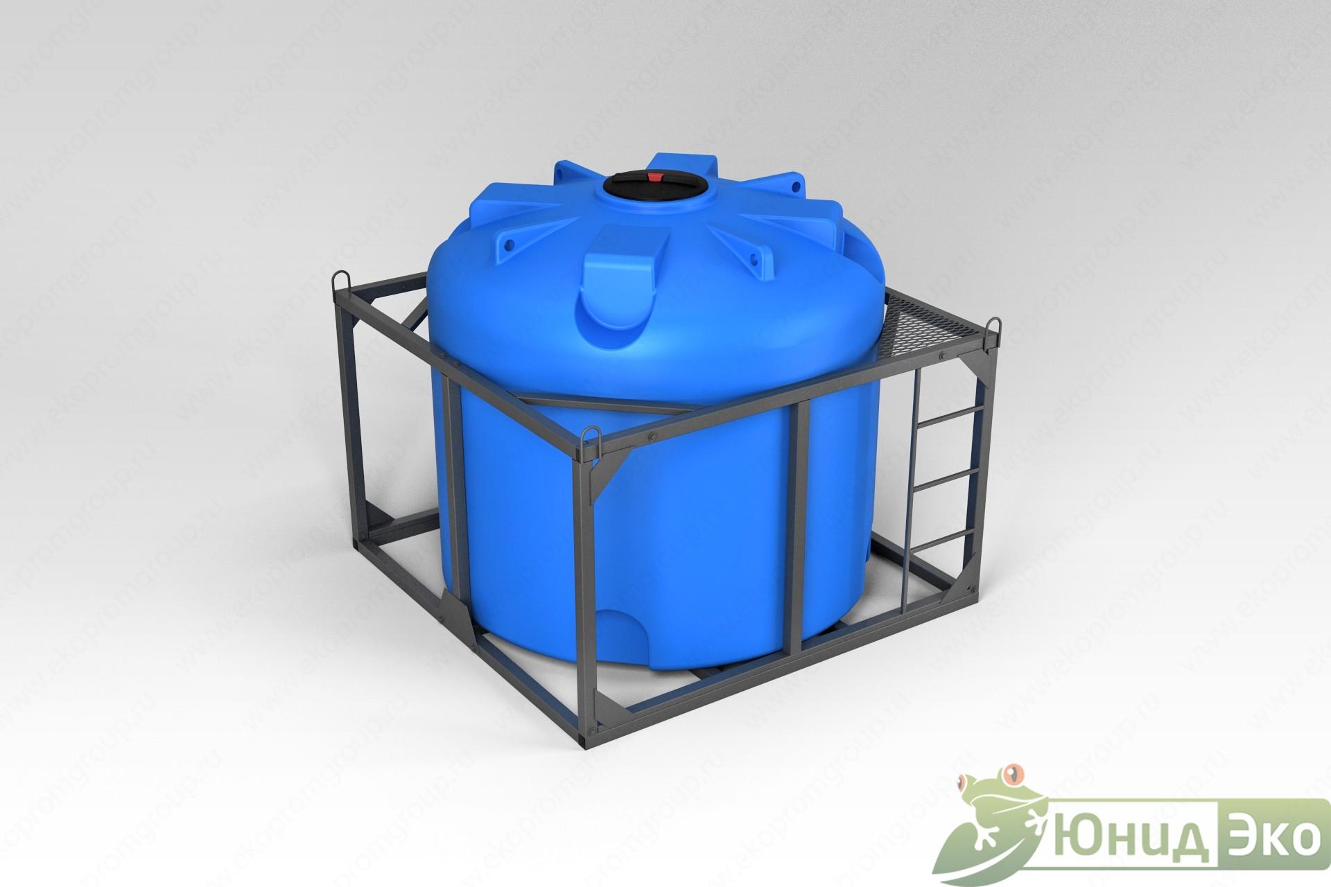 Емкость TR 5000 литров в обрешетке