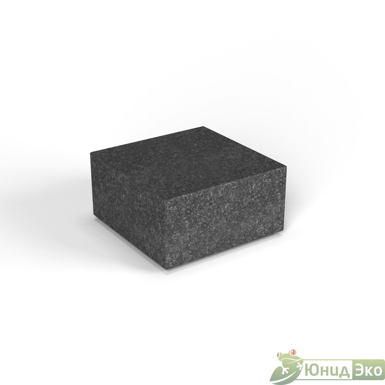 Декоративная фигура «Flox» Полукуб черный гранит